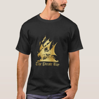 The Pirate Bay Gold Logo tee
