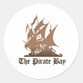 The Pirate bay logo sticker