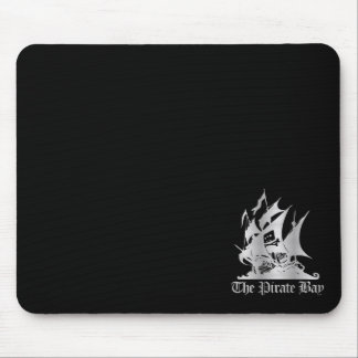 The Pirate Bay Silver Logo Mouse Pad