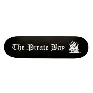 The Pirate Bay Skate Board Deck