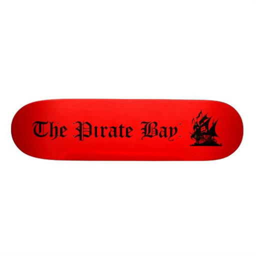 The Pirate Bay Skateboard Deck