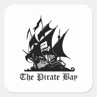 The Pirate Bay Square Sticker