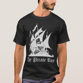 The Pirate Bay  T-Shirt Black - Customized