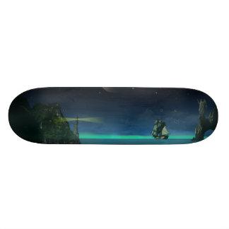 The Pirate Cove Custom Skate Board