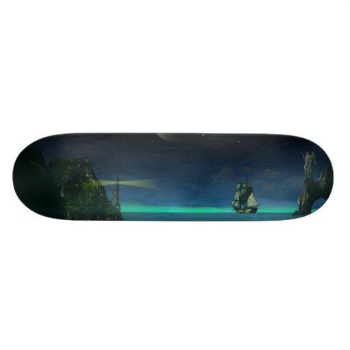The Pirate Cove Skate Board