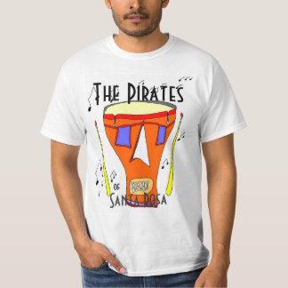 The Pirates of Santa Rosa Drum T-Shirt