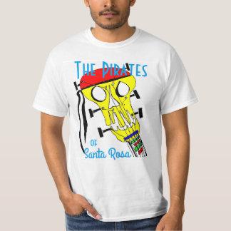The Pirates Skull Santa Rosa T-Shirt