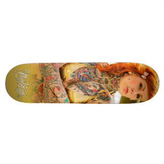 The Pixeleye - Katy Gold Skateboard Deck