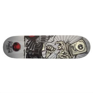 The Pixeleye - monster I Skateboard
