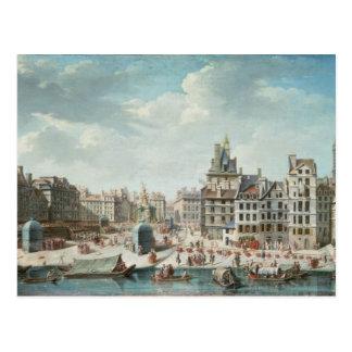 The Place de Greve, Paris Postcard
