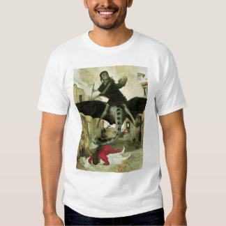 The Plague by Arnold Bocklin, Vintage Symbolism T Shirts