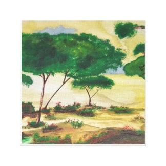 The Plain Canvas Print