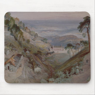 The Plains, Landour Church, Mussoorie, 1884 Mouse Pad
