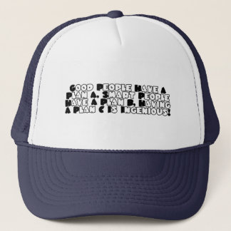 The Plan Trucker Hat