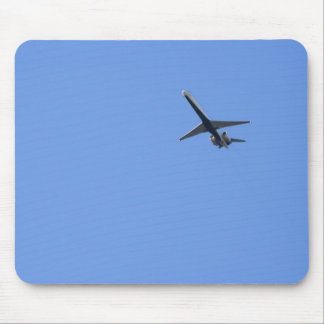 the plane mouse pad