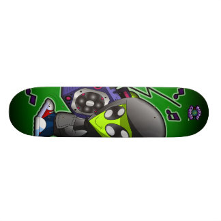 The Planet Cazmo Alien! Skate Board