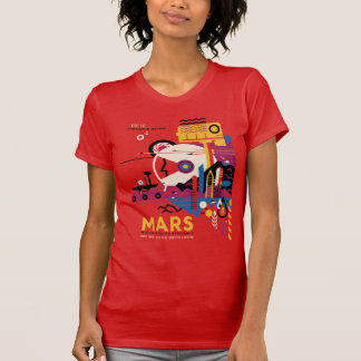 The Planet Mars - Historic Sites T-Shirt