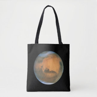 The Planet Mars Tote Bag