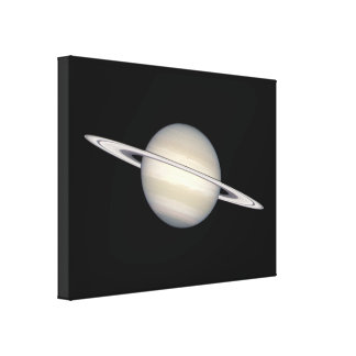 The Planet Saturn Canvas Print