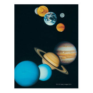 The Planets Postcard