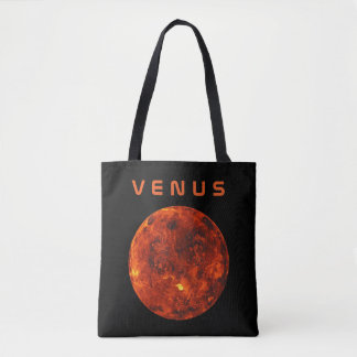 The Planets Venus - See Both Sides Tote Bag
