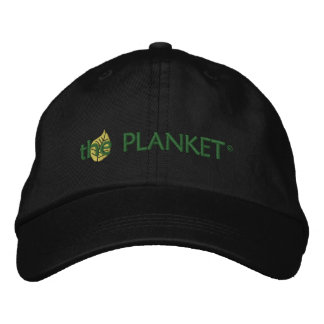 The Planket Black Hat Embroidered Baseball Caps