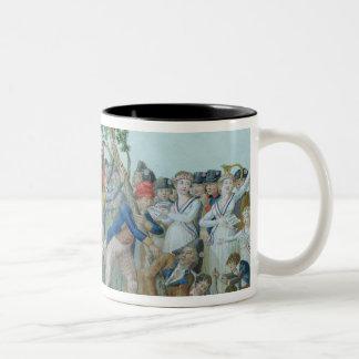 The Planting of a Tree of Liberty, c.1789 Two-Tone Coffee Mug