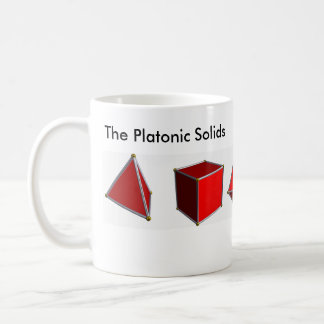 The Platonic Solids Coffee Mug