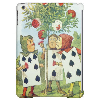 The Playing Cards Painting the Rose Bush Cover For iPad Air