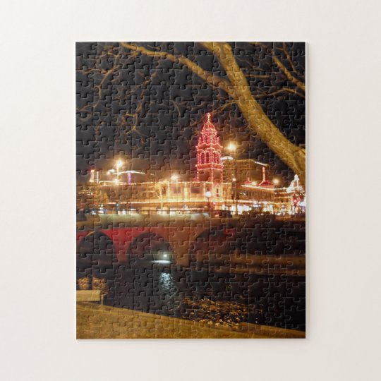The Plaza Lights Jigsaw Puzzle