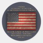 The Pledge Classic Round Sticker