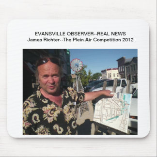 The Plein-Air Competition: Evansville 2012 Mouse Pad