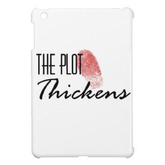 The Plot Thickens iPad Mini Cover