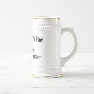 The Ploughman's Pint Beer Stein