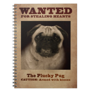 The Plucky Pug Notebook