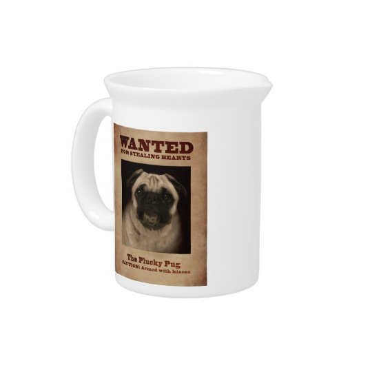 The Plucky Pug Pitcher