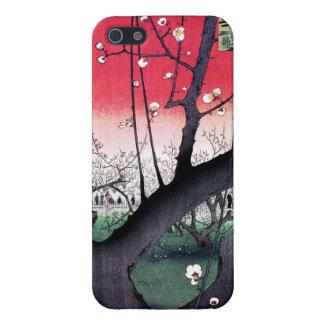 The Plum Garden in Kameido by Utagawa Hiroshige iPhone 5/5S Covers