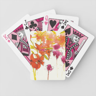 The Plum of Patty Bicycle Playing Cards