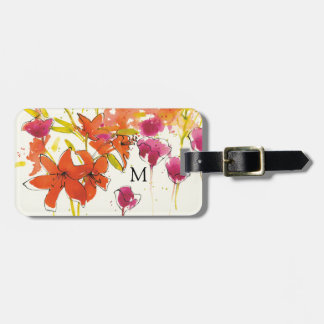The Plum of Patty Luggage Tag