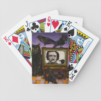 The Poe Show Bicycle Playing Cards