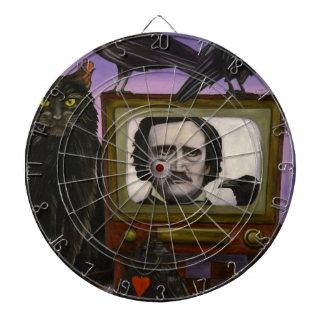 The Poe Show Dartboard