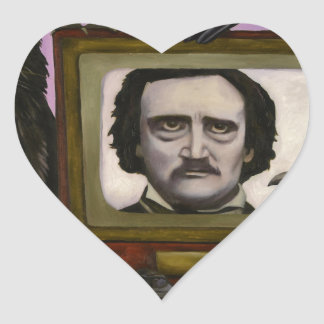 The Poe Show Heart Sticker