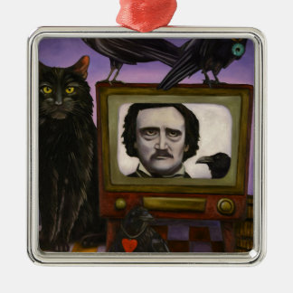 The Poe Show Metal Ornament