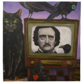 The Poe Show Napkin