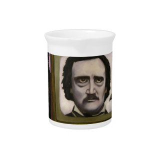 The Poe Show Pitcher