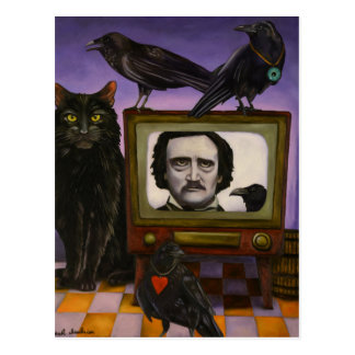 The Poe Show Postcard