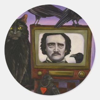The Poe Show Round Sticker