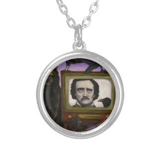 The Poe Show Silver Plated Necklace