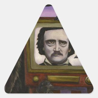 The Poe Show Triangle Sticker
