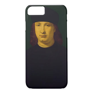 The Poet Casio, c.1495-1500 (oil on panel) iPhone 7 Case
